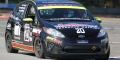 2011 B-Spec Ford Fiesta race car with TNT car hauler  photo 1