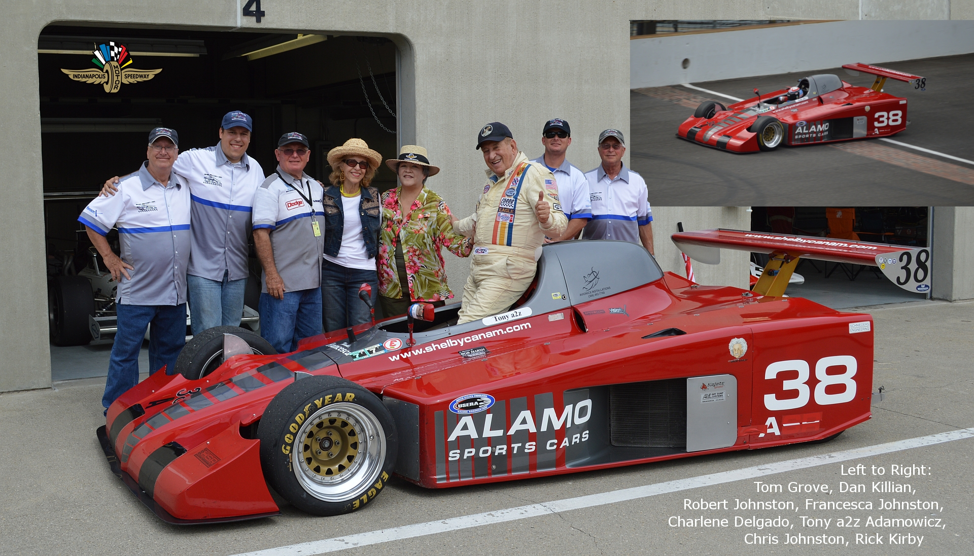 Shelby Can Am Prototype Race Car For Sale $