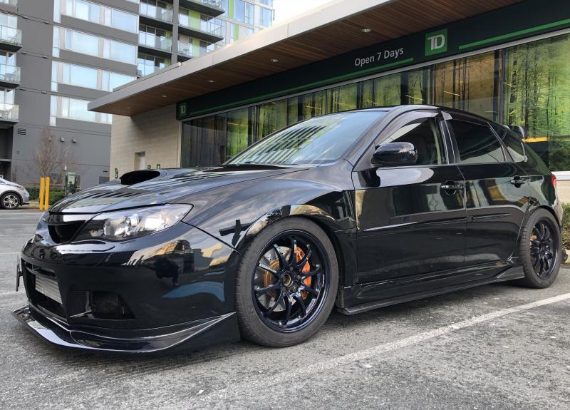2008 400hp Subaru WRX hatchback main photo