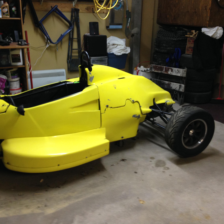 Formula Ford Van Diemen RF94 For Sale For 1 BTC Or For