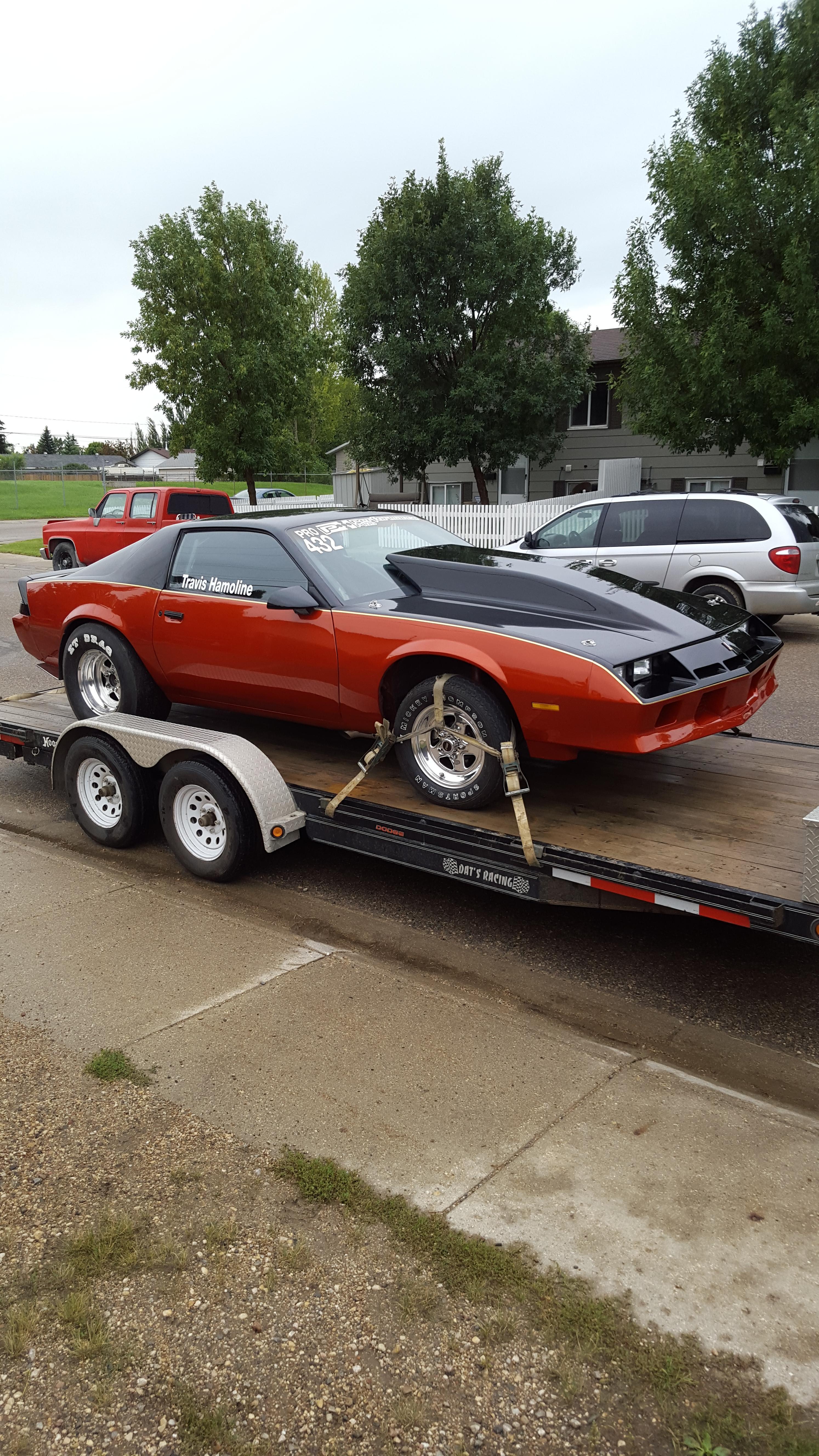 1984 Camaro Drag Car For Sale - $18000