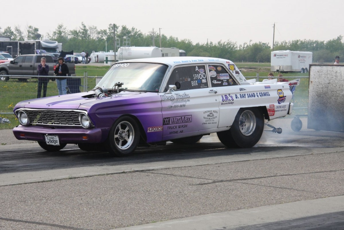 1964 Ford Falcon 1100 Hp 1 4 Mile Drag Race Car For Sale