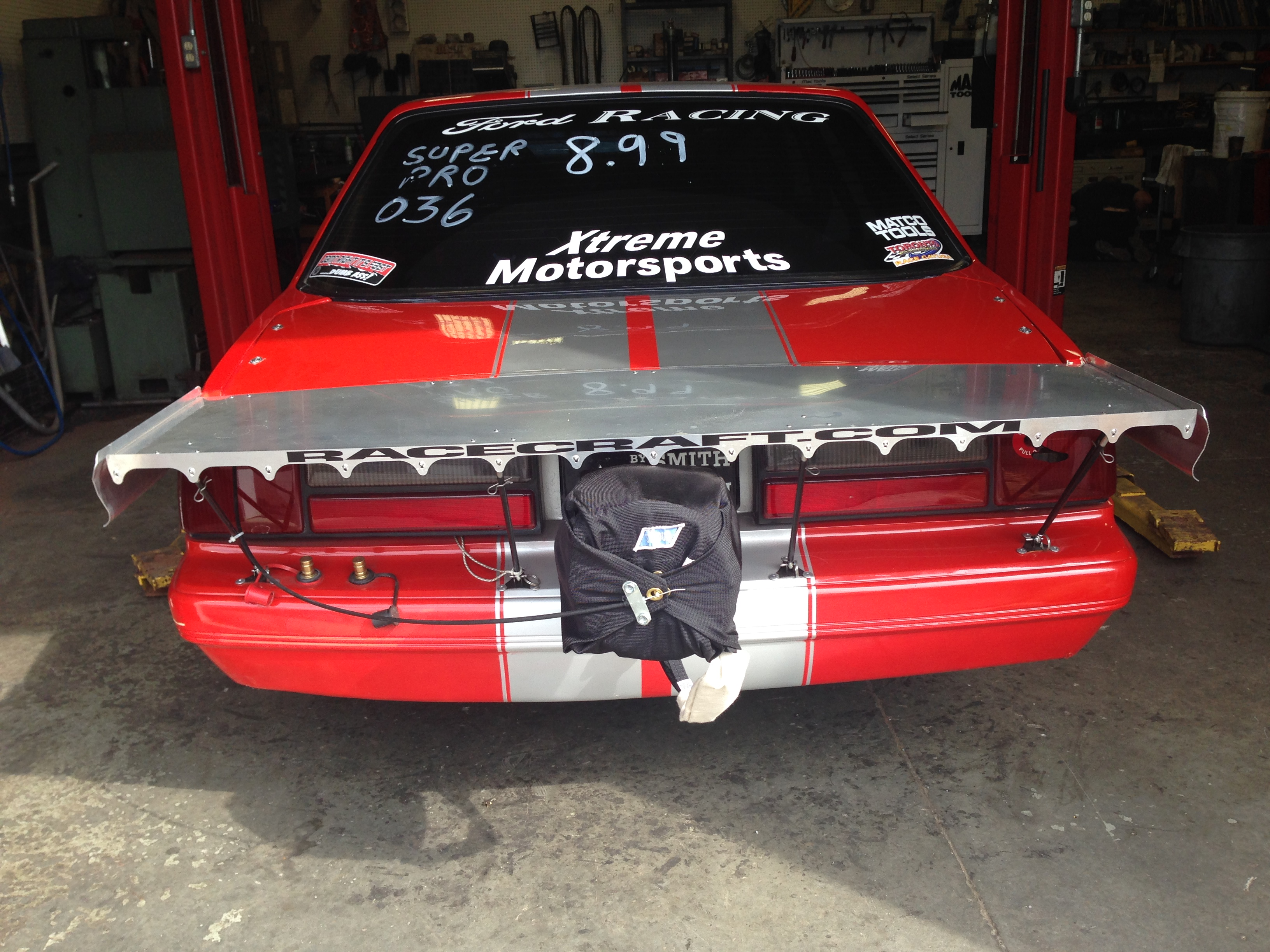 1988 Ford Mustang Drag Car For Sale In Cobourg 25000