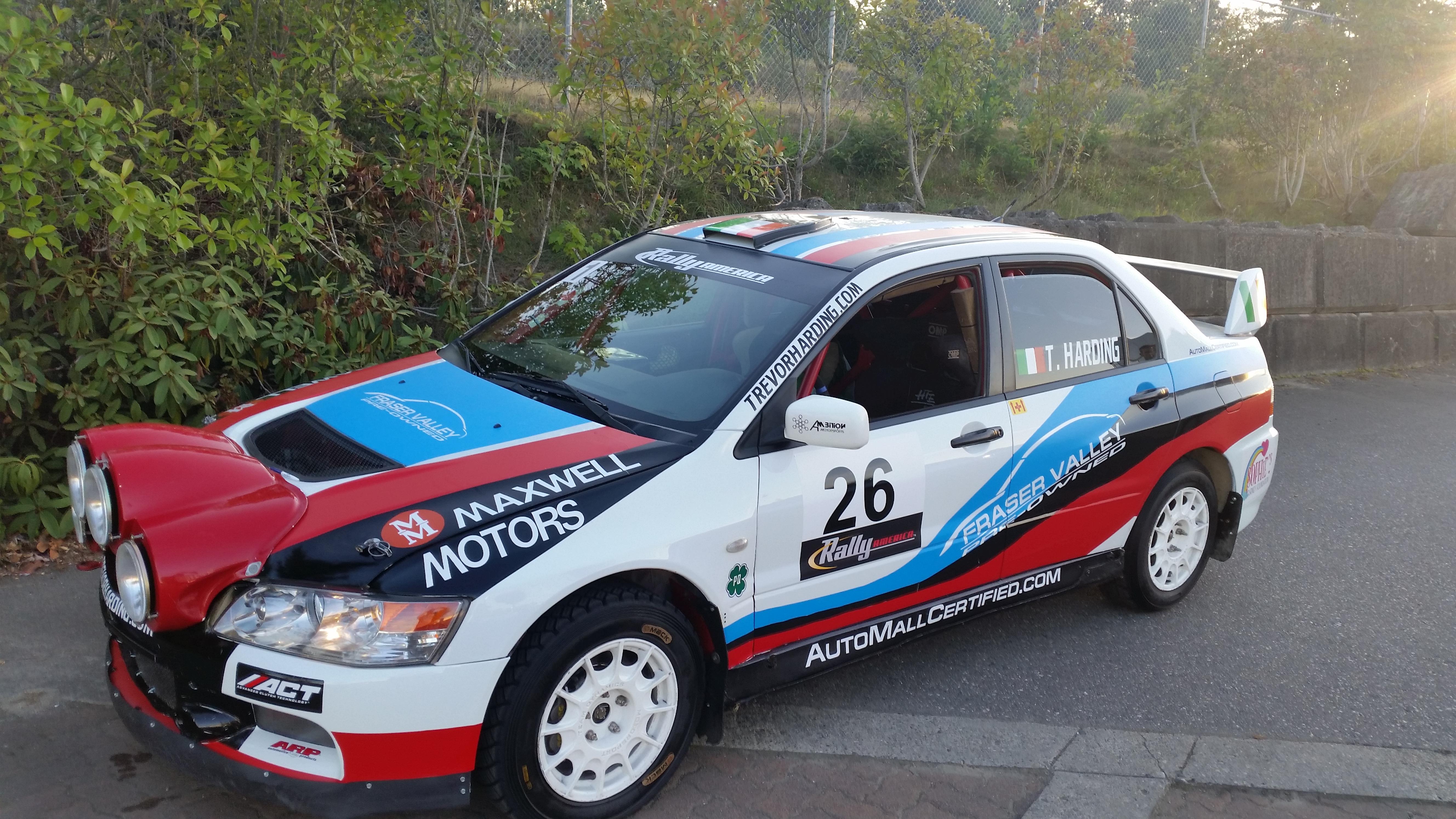 Mitsubishi Lancer Evo  Rally Car For Sale