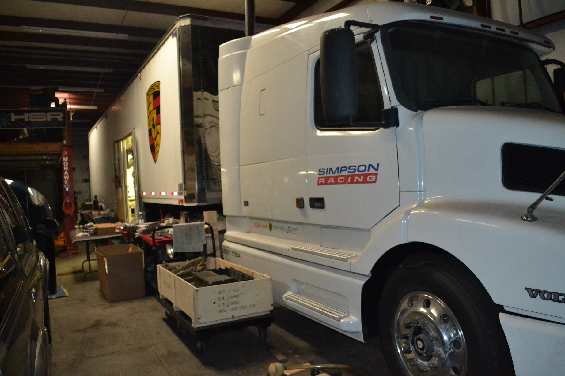 2000 Volvo Tractor & 1989 Hi-Tech Race Trailer For Sale in Buford - $65000