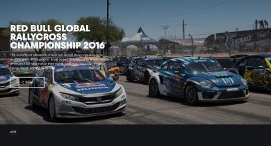 2016 GLOBAL RALLYCROSS CHAMPIONSHIP is on RED BULL TV!