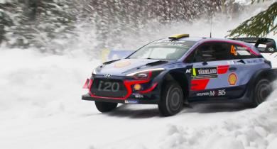 Watch WRC Rally Sweden.