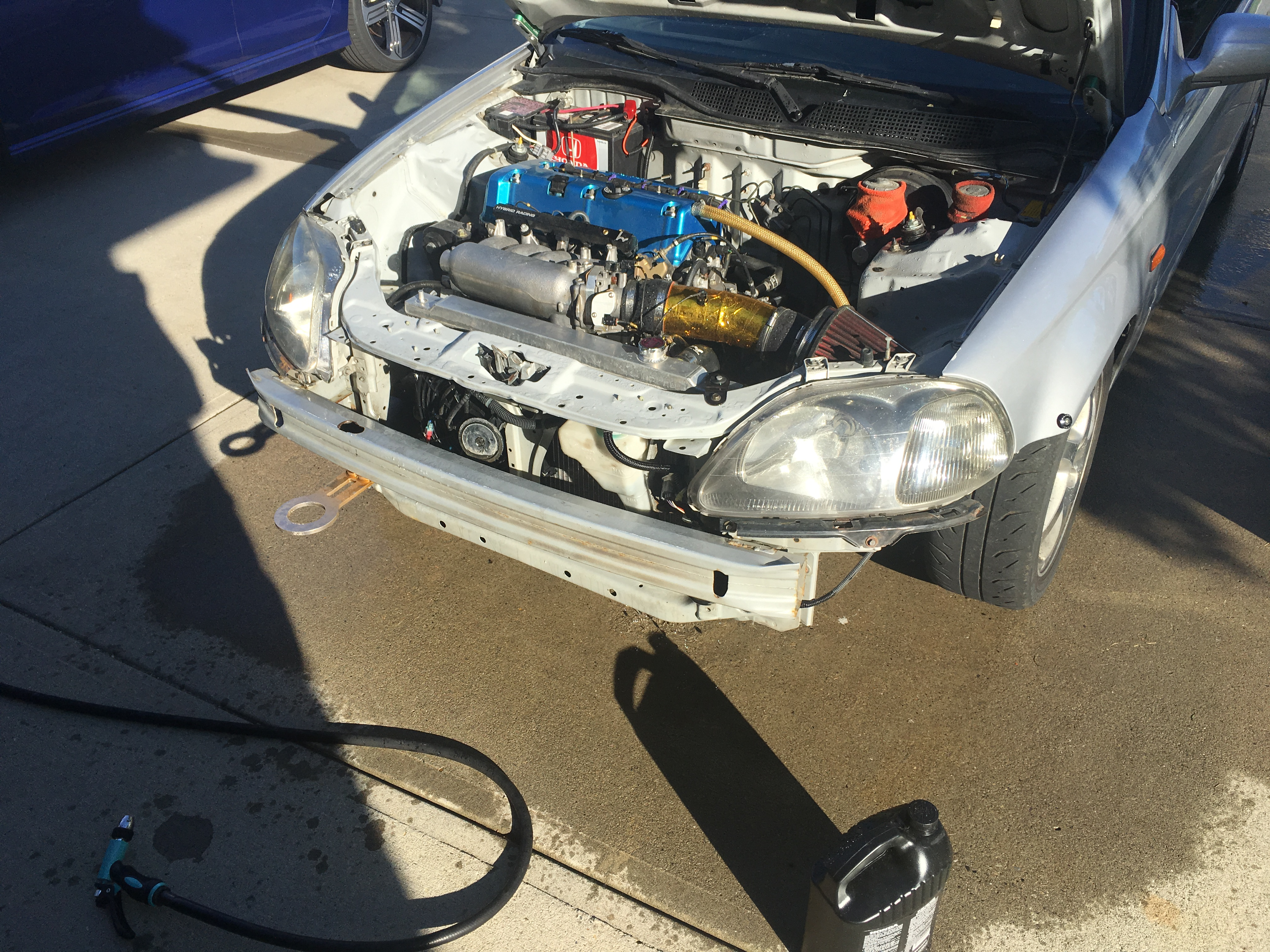 1997 Honda Civic Hatch With K20 Swap 6 Speed Etc For Sale