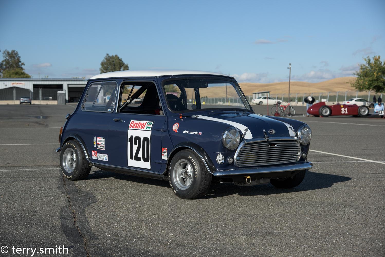 mini cooper s race car 1967 for sale in fresno 31000. Black Bedroom Furniture Sets. Home Design Ideas