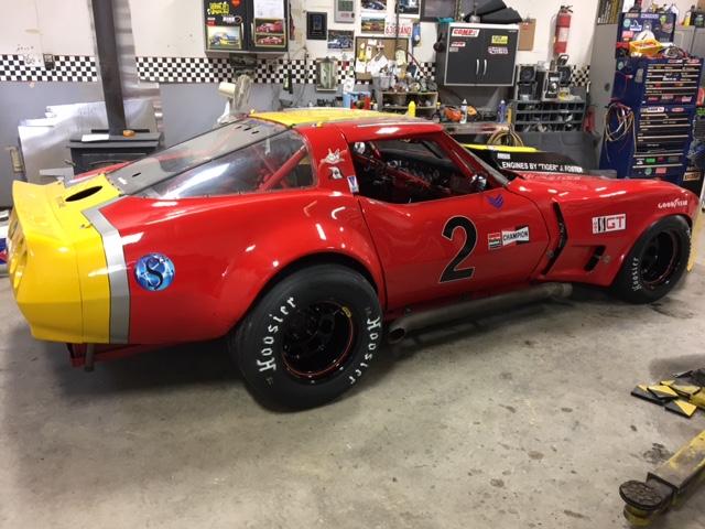 1982 GT1 Vintage Corvette Race Car For Sale - $32400