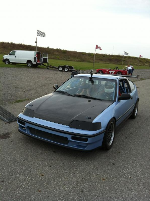 1989 Honda CRX Race/Track Car & Trailer Package main photo