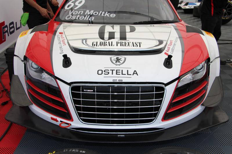 2012 Audi R8 Gt3 Lms Ultra Race Car For Sale 160000