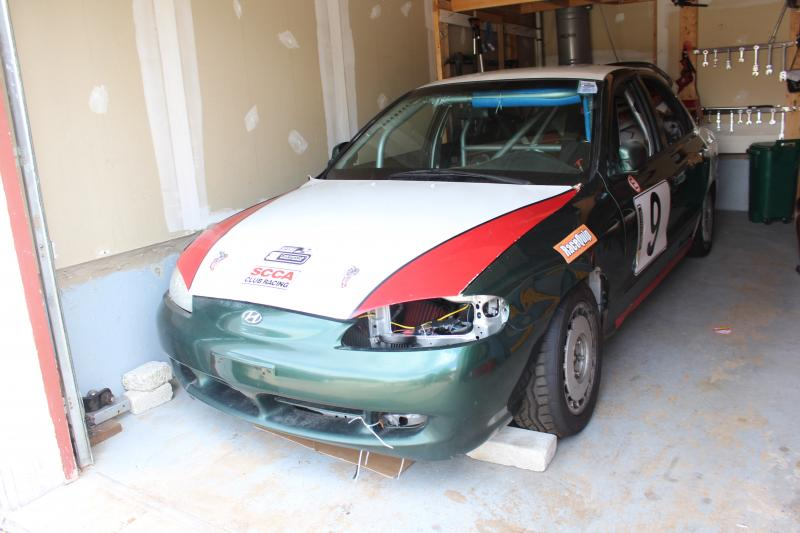 TURN KEY RACE READY 96 ELANTRA GT CHUMPCAR FOR SALE main photo