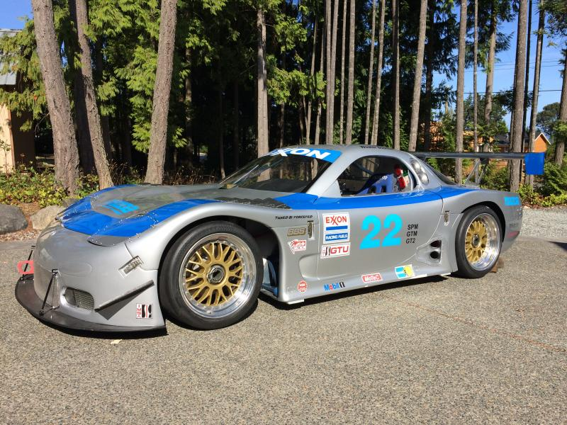 1997 imsa mazda rx7 tubeframe racecar for sale in nanaimo. Black Bedroom Furniture Sets. Home Design Ideas