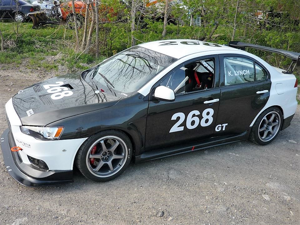 fully track prepared 2008 mitsubishi evo x price drop for sale in halton hills 67750. Black Bedroom Furniture Sets. Home Design Ideas