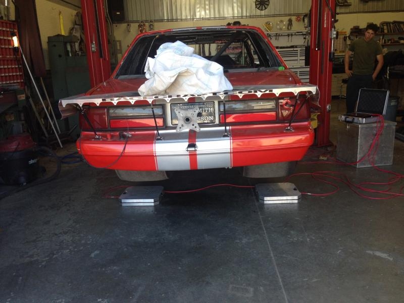 1988 Ford Mustang Drag Car main photo