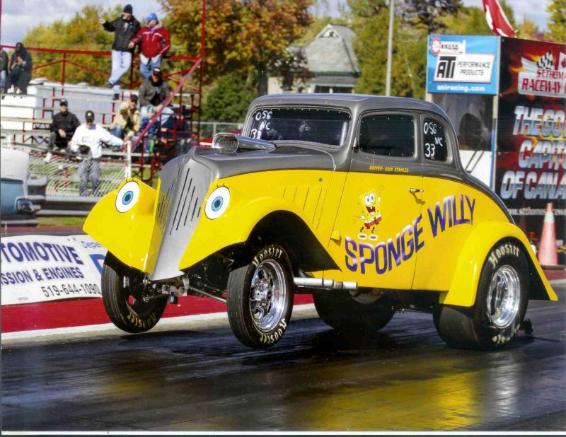 1933 Willys Coupe, Sponge Willy main photo