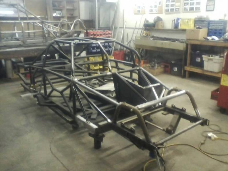 2012 Port City Chrome Moly Super Late Model Chassis main photo