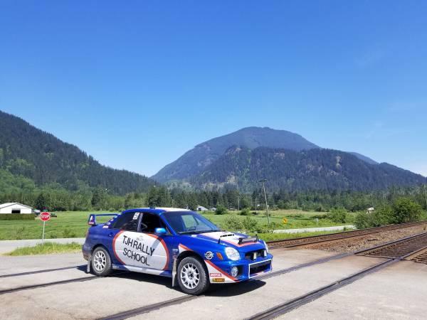 Subaru Wrx Rally Car For Sale In Vancouver 20555