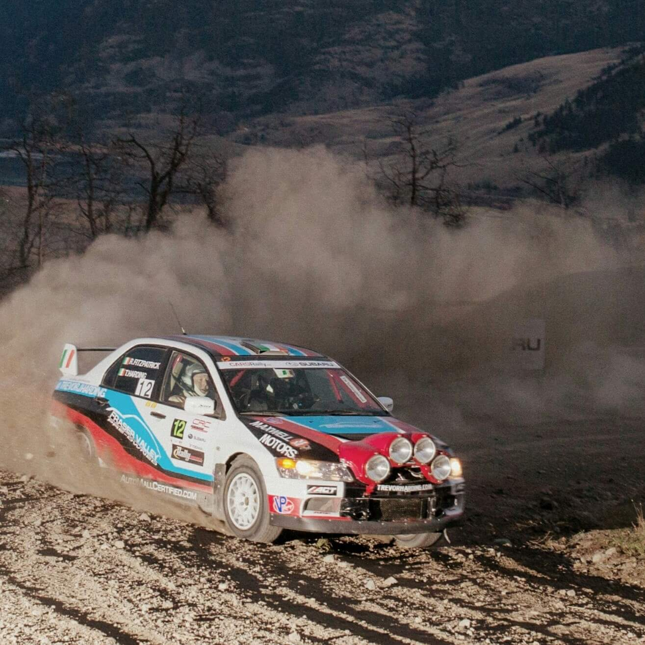 Mitsubishi lancer EVO RALLY CAR For Sale in Vancouver - $37500
