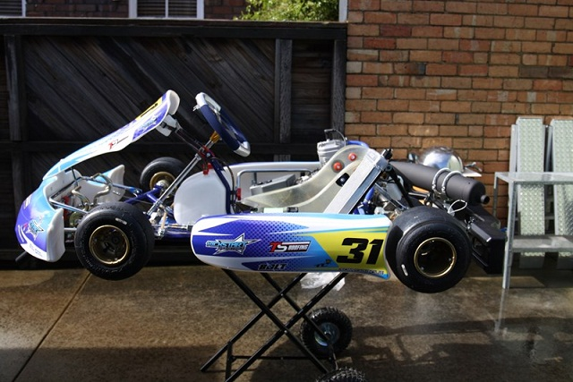 New Kosmic Chassis with IAME X30 Engine for sale main photo