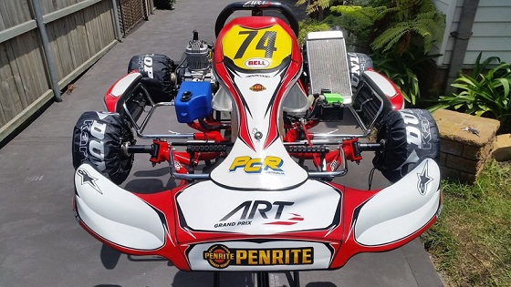 New ART Grand Prix TS-01 with Brand New IAME X30 for sale main photo