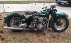 1948 Harley Davidson EL Panhead main photo