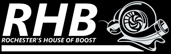 Rochester's House of Boost (RHB) logo