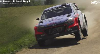 Only one day left to watch Rally Poland